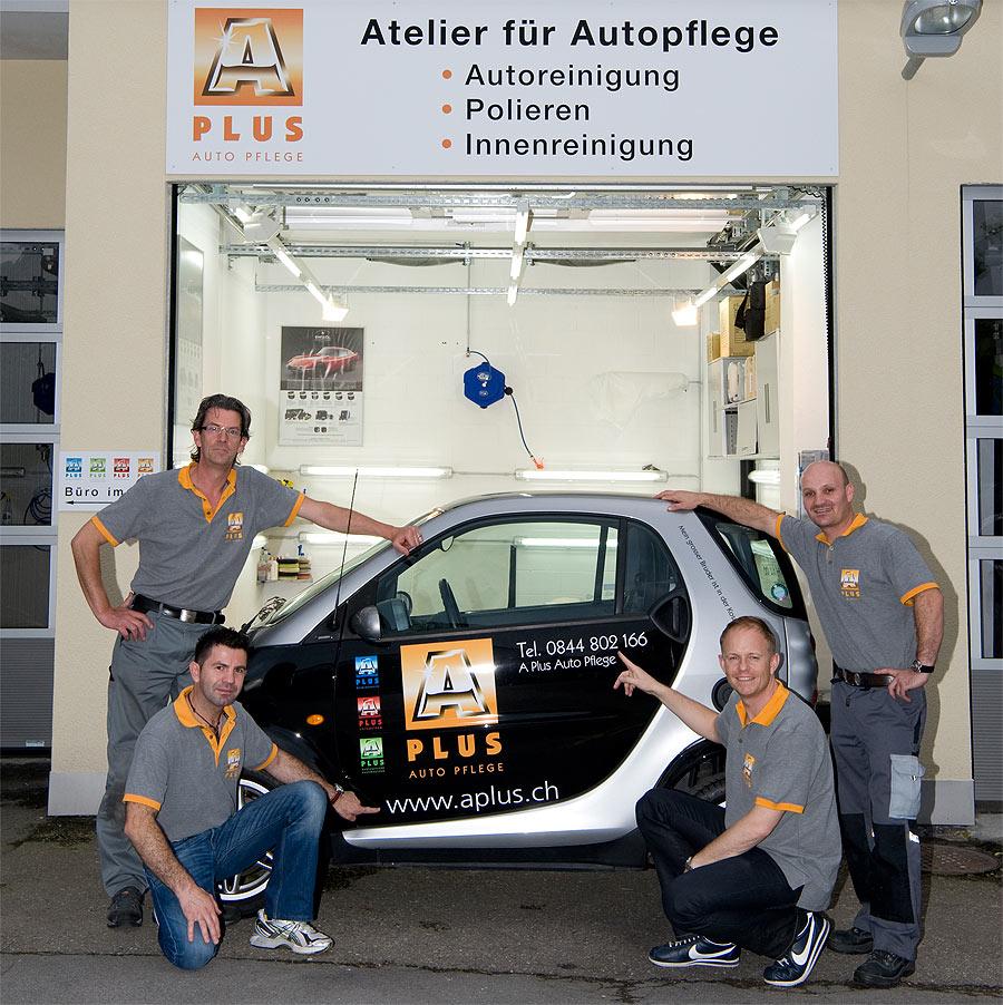 A Plus Team Autoaufbereitung